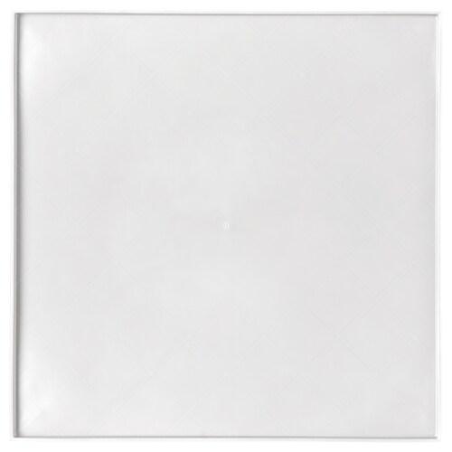 LURVIG place mat for food bowl, with rim white 33 cm 33 cm