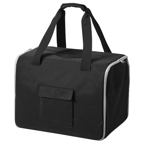 LURVIG travel bag for pets black/grey 50 cm 32 cm 35 cm 56 l 15 kg