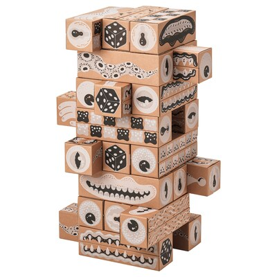 LUSTIGT Building blocks, 13x13 cm