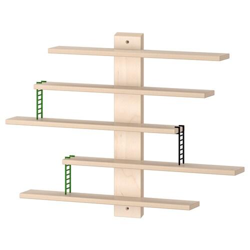 LUSTIGT wall shelf 37 cm 6 cm 37 cm 400 g 2 kg