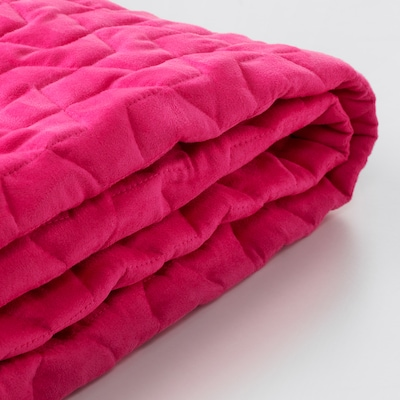 LYCKSELE Cover for 2-seat sofa-bed, Vallarum cerise