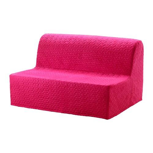 Fantastic Lycksele Murbo 2 Seat Sofa Bed Vallarum Cerise Machost Co Dining Chair Design Ideas Machostcouk