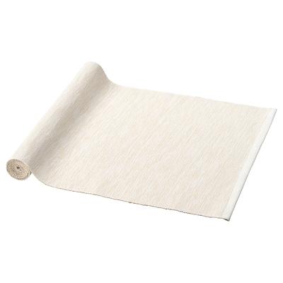 MÄRIT Table-runner, natural, 35x130 cm