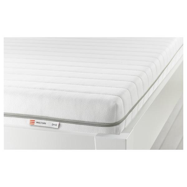 MALFORS Foam mattress, firm/white, 120x200 cm