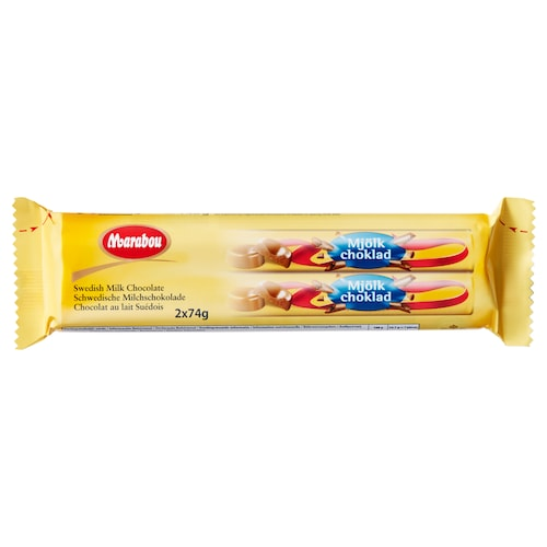 MARABOU milk chocolate roll 148 g