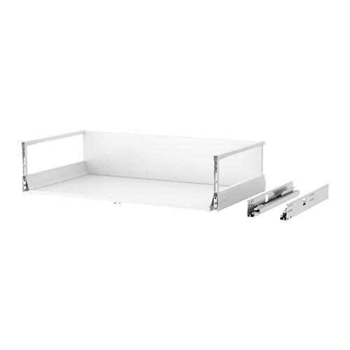 MAXIMERA - Drawer, high, white
