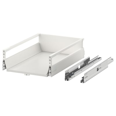 MAXIMERA Drawer, medium, white, 40x60 cm