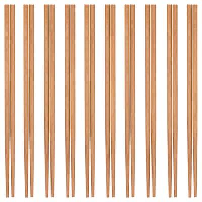 MEDHJÄLPARE Chopsticks 10 pairs, bamboo
