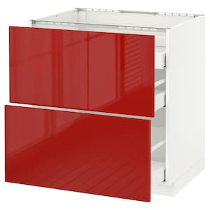 Front: Ringhult high-gloss red.