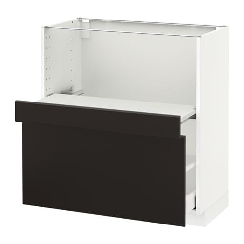 pull out shelf drawer ma kungsbacka anthracite 80x41x80 cm ikea