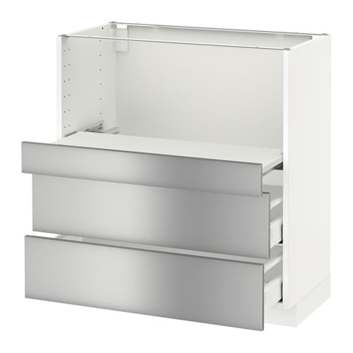 metod base cab w pull out shelf 2 drawers ikea