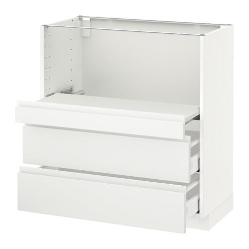 cab w pull out shelf 2 drawers ma voxtorp white 80x41x80 cm ikea