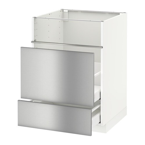 metod base cb f hob fish grill 2 drawers ma grevsta stainless steel ikea. Black Bedroom Furniture Sets. Home Design Ideas