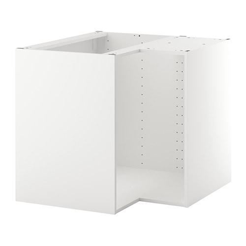Metod Corner Base Cabinet Frame White