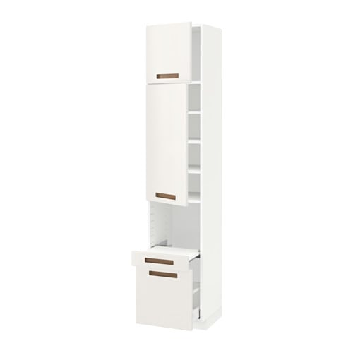 pull out shelf drawer 2 drs ma m rsta white 40x41x200 cm ikea