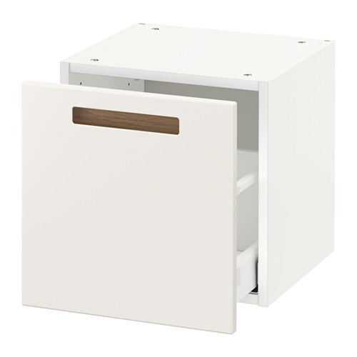 metod wall cabinet with drawer m rsta white 40x37x40 cm
