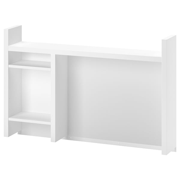 MICKE Add-on unit high, white, 105x65 cm