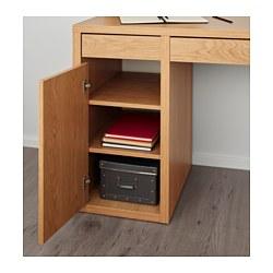 best website 46467 11d24 MICKE - Desk, oak effect