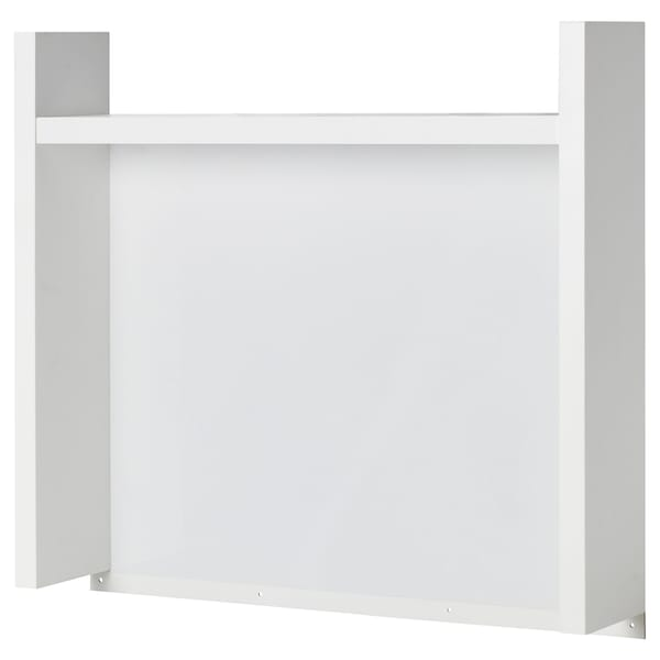 MICKE Workstation, white, 73x50 cm