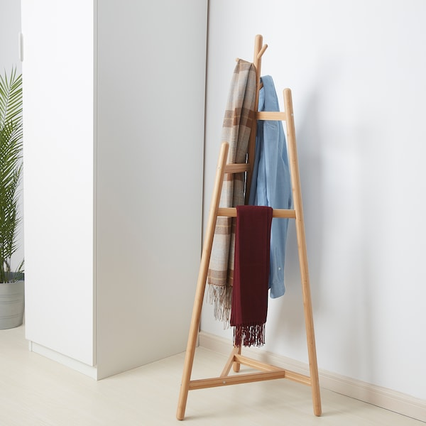 MORSNING Valet stand, bamboo