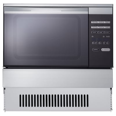 MUMSIG LP Gas oven with microwave function, stainless steel, 60x53 cm