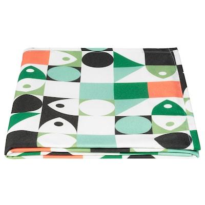 MUSSELBLOMMA Tablecloth, multicolour, 145x240 cm