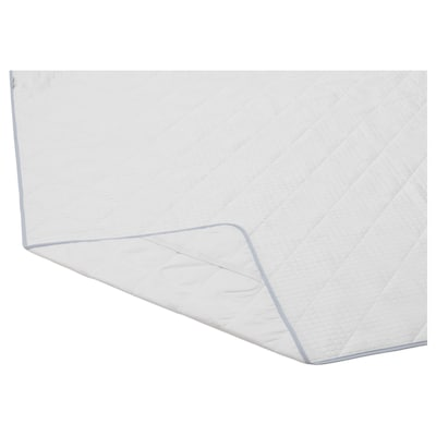 MYSKMADRA Mattress protector, white, 120x200 cm
