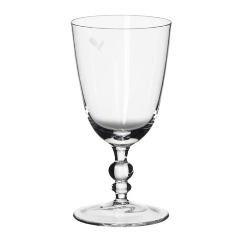 NÄRHET Red wine glass IKEA The glass is mouth blown, which makes each piece unique.