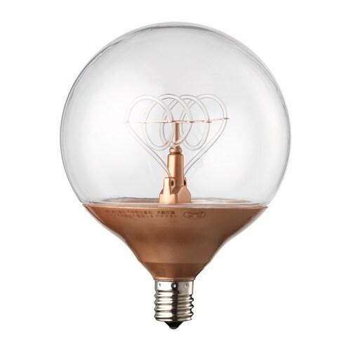 nittio led bulb e17 ikea. Black Bedroom Furniture Sets. Home Design Ideas