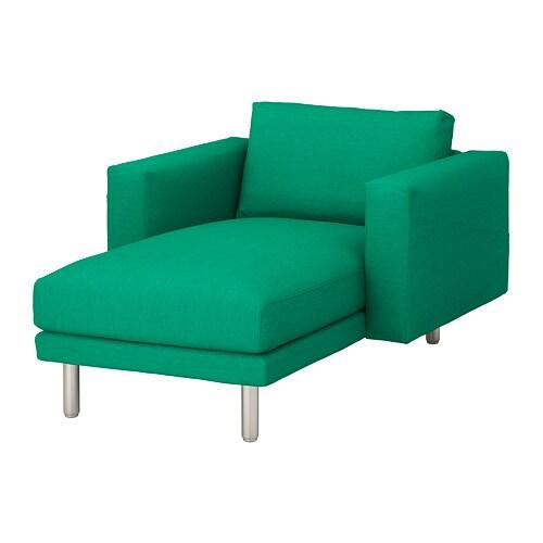 norsborg chaise longue edum bright green metal ikea. Black Bedroom Furniture Sets. Home Design Ideas