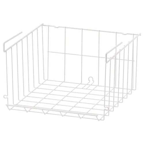 OBSERVATÖR clip-on basket white 31 cm 30 cm 18 cm