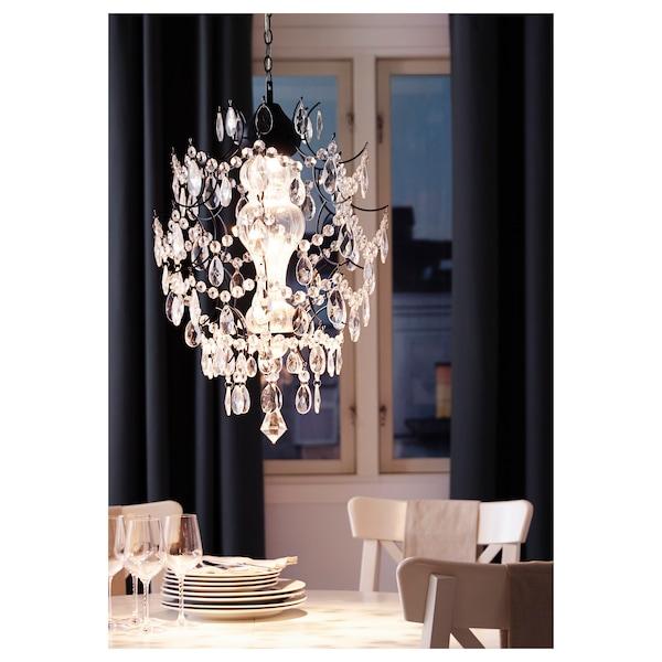 ÖRTOFTA chandelier 7 W 50 cm 42 cm 1.4 m