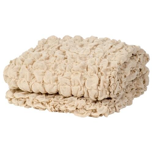 OFELIA blanket beige 170 cm 130 cm