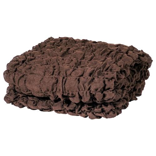 OFELIA blanket brown 170 cm 130 cm