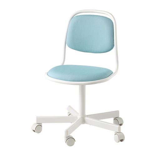 Superb Orfjall Childrens Desk Chair White Vissle Blue Green Evergreenethics Interior Chair Design Evergreenethicsorg