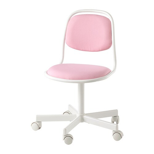 Fine Orfjall Childrens Desk Chair White Vissle Pink Pabps2019 Chair Design Images Pabps2019Com