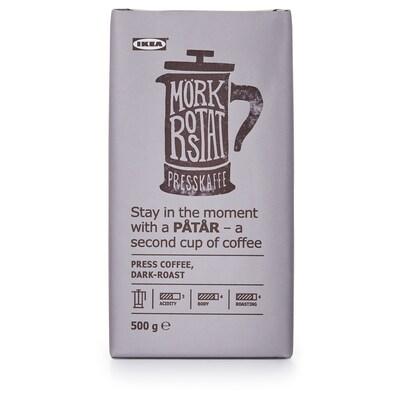 PÅTÅR Press coffee, dark roast, UTZ certified/100 % Arabica beans