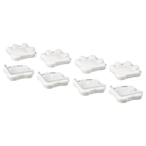 PATRULL corner bumper white 8 pack