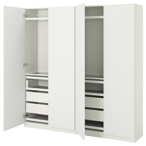 PAX / VINTERBRO wardrobe combination white 200.0 cm 38.0 cm 201.2 cm