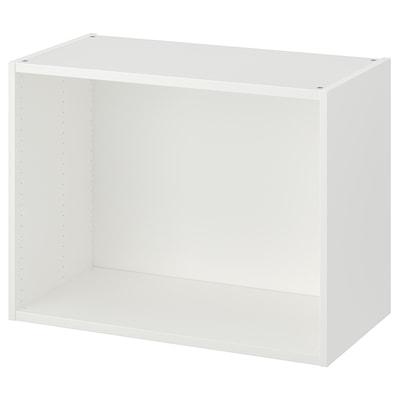 PLATSA Frame, white, 80x40x60 cm