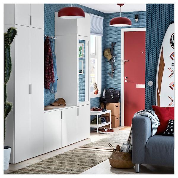 PLATSA wardrobe with 9 doors white/Fonnes Ridabu 260.0 cm 42.0 cm 221.0 cm