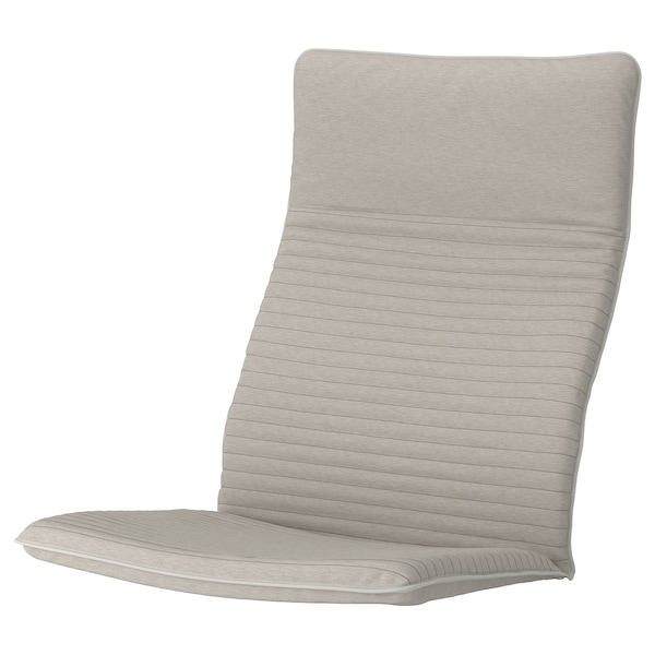 POÄNG armchair cushion Knisa light beige