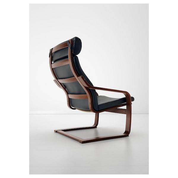 POÄNG armchair brown/Smidig black 68 cm 83 cm 100 cm 55 cm 53 cm 41 cm