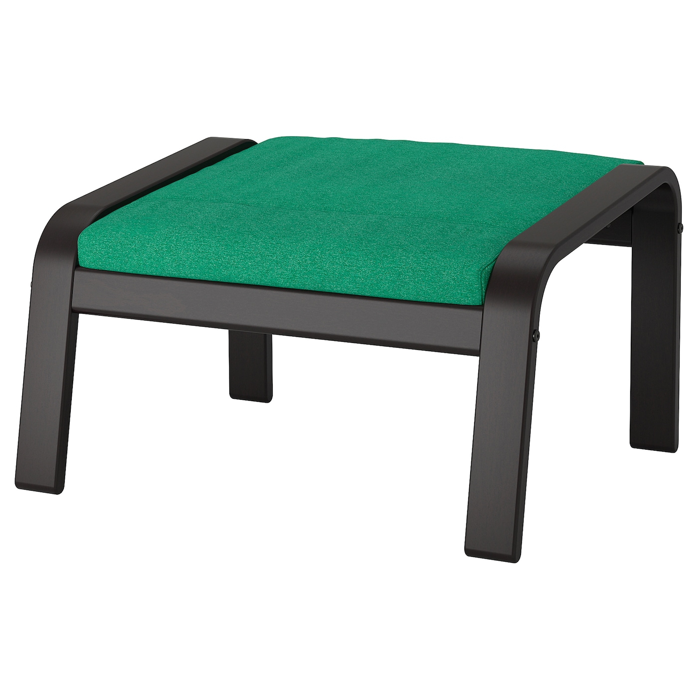 Ikea Poang Footstool Cushion Lysed Bright Green New Footstool Not Included