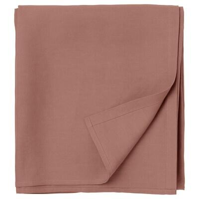 PUDERVIVA Sheet, dark pink, 240x260 cm