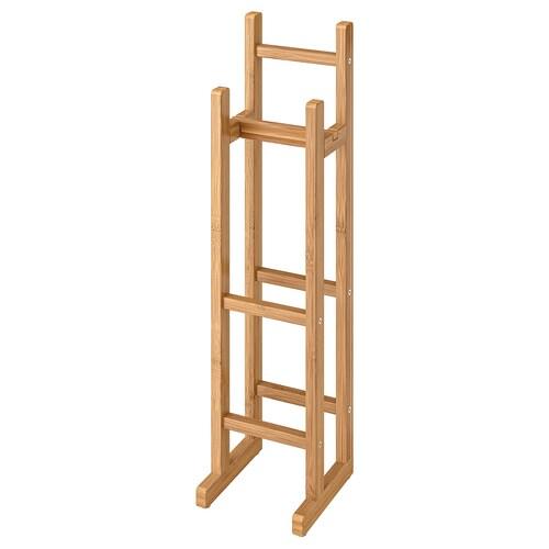 RÅGRUND toilet roll stand bamboo 15 cm 16 cm 60 cm