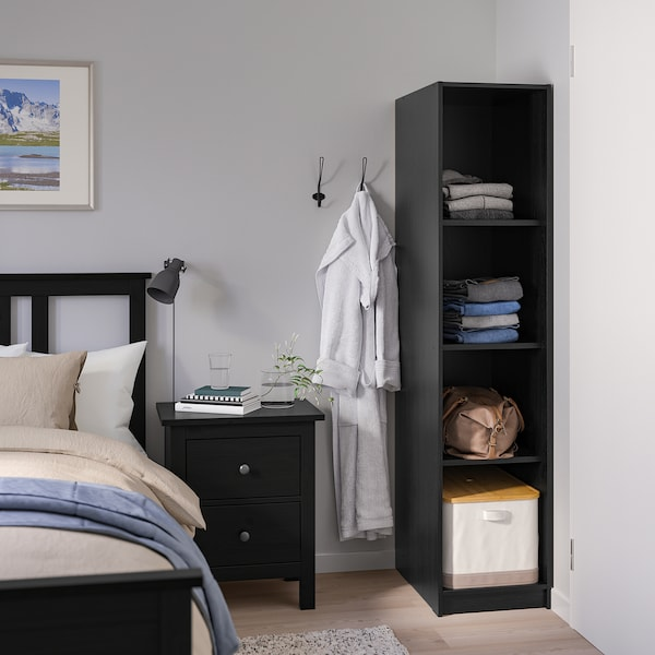 RAKKESTAD open wardrobe black-brown 39 cm 55 cm 176 cm