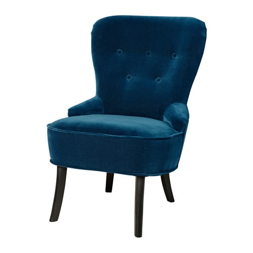 Remsta Armchair Djuparp Dark Green Blue Ikea