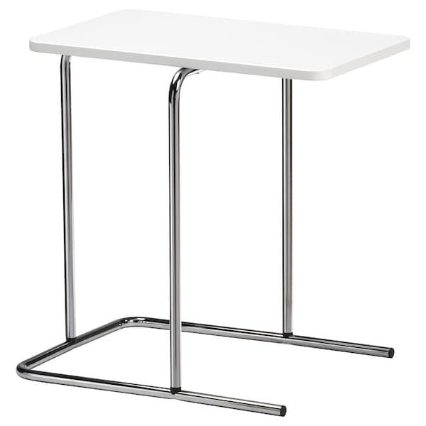 RIAN Side table, white, 50x30 cm