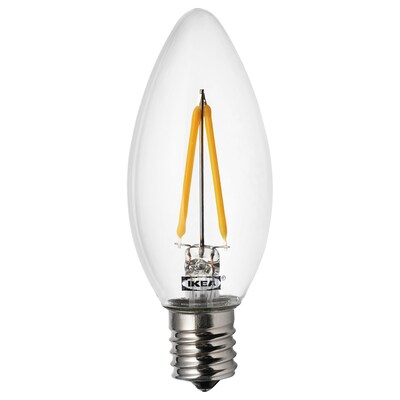 RYET LED bulb E17 200 lumen, chandelier/clear